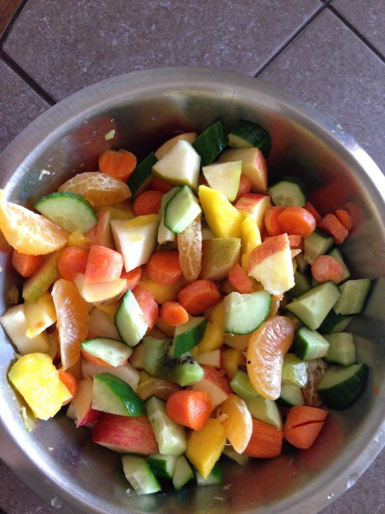 A bowl of freshness