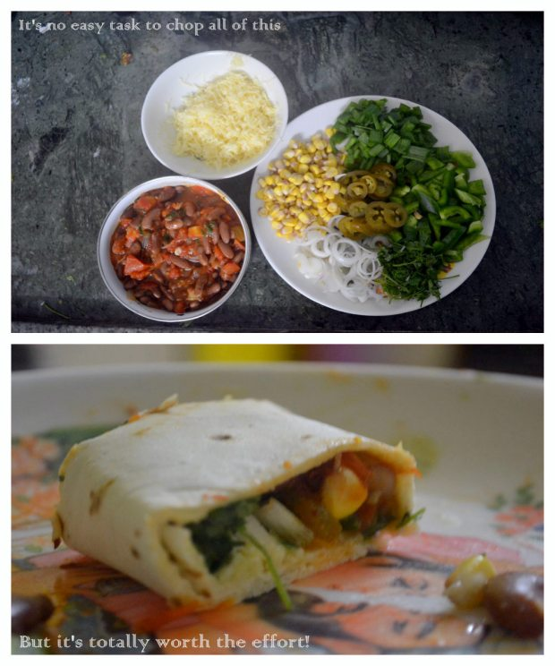 All that fits in nicely into the Burrito