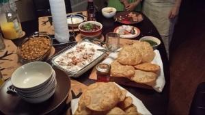 Rakhi dinner.
