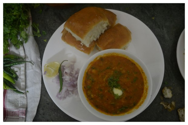 Pav Bhaji at home