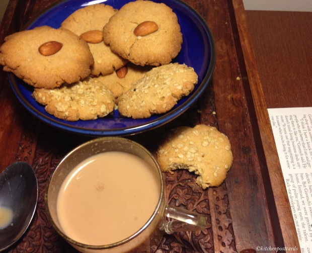 Tea with homemade biscuits