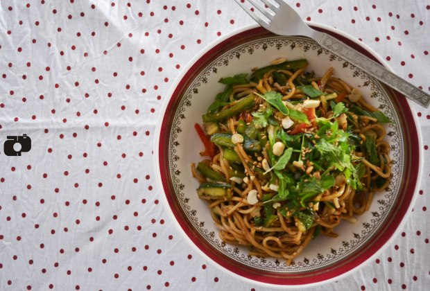 How to make asian style salad