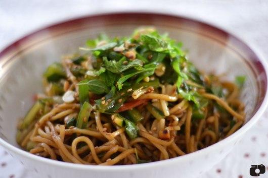Cold peanut noodle salad recipe