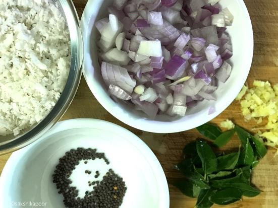 basic thoran recipe