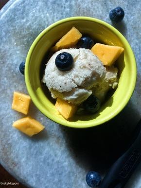 Simple Vegan One ingredient Ice Cream