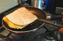 How to make egg kathi roll at home