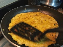 Egg coated Buritto/ Kathi / Frankie rolls