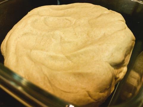 Aata, whole wheat flour kneaded