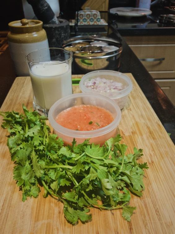 Dal makhni ingredients